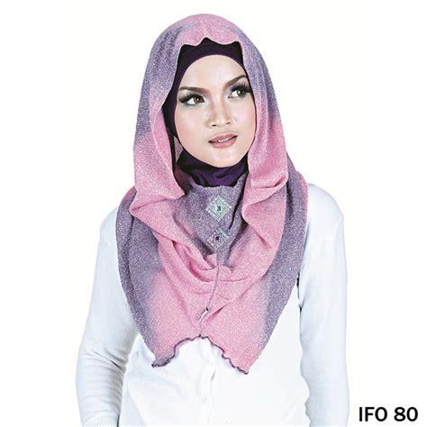 Jilbab Humaira Pricilla All Size jilbab rajut ungu gudang fashion wanita