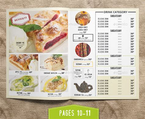 restaurant menu templates for pages modern grill restaurant menu menu template by kreatorr