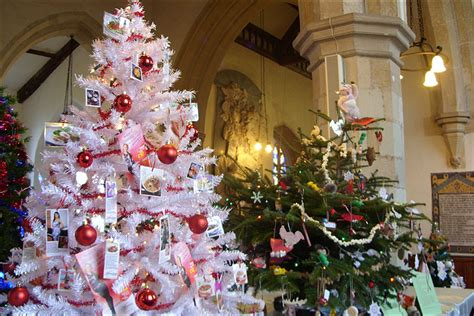 bbc in pictures christmas tree festival
