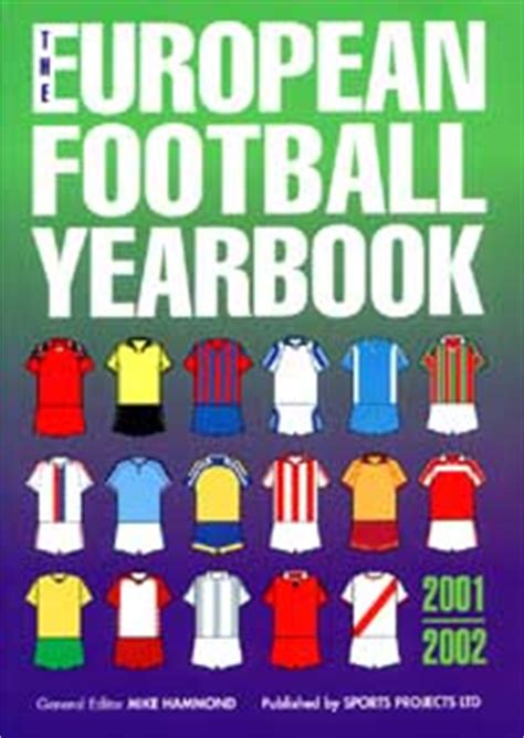 libro the european football yearbook knihy a časopisy evropa