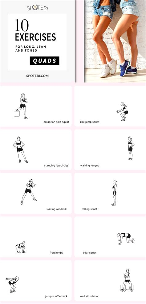 get your quads on with this at home workout for