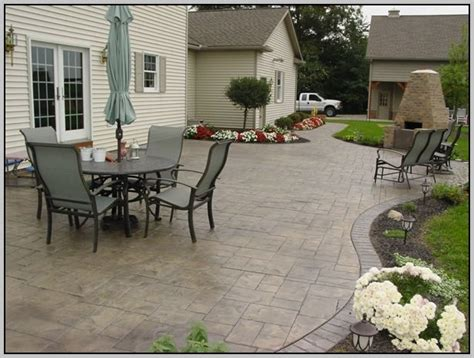Concrete Patio Designs Layouts Patio Layout Design Ideas Patio Design 120