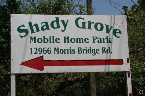 shady grove mobile home park alquileres en thonotosassa