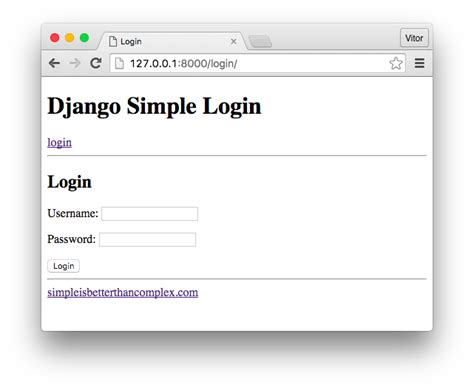 django creating a login page how to use django s built in login system