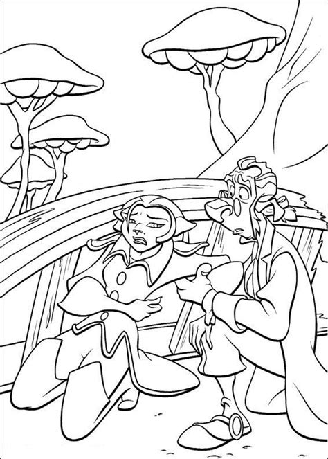 treasure planet coloring pages coloringpages1001 com