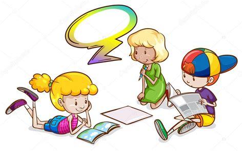 imagenes de niños jugando y estudiando ni 241 os estudiando con una plantilla vac 237 a llamada archivo
