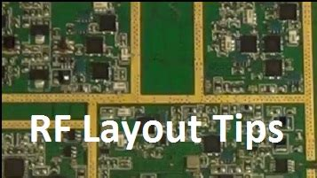 Layout Guidelines For Rf Boards | tips and tricks microwavetools