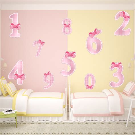 numbers wall stickers wallstickers folies numbers set wall stickers