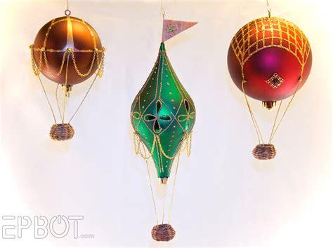 Stringdecoration Mobile Balloon Miniature Papercraft epbot mini air balloon tutorial