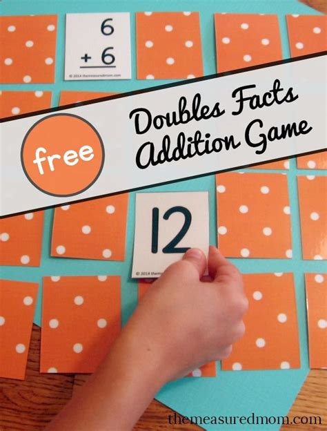 printable doubles games 25 best ideas about doubles addition on pinterest