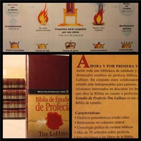 biblia de estudio para biblia en espanol de estudio profecia tim lahaye ebay