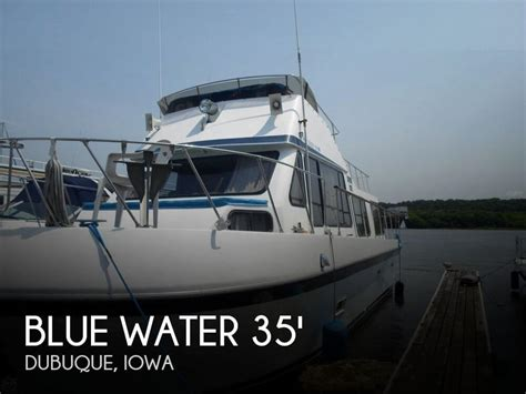 boats for sale in dubuque iowa sold blue water boats 35 tri cabin boat in dubuque ia