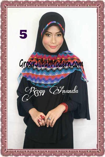 Gamis Anak Syari Azhyra No 5 jilbab jumbo syar i syafia by rizky ananda no 5 grosir