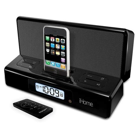 Ihome2go Truly Portable Ipod Nano Speaker by Ihome2go Ip27br Portable Speakers With Alarm Clock For