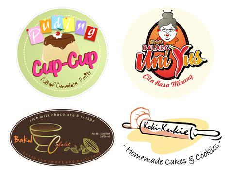 membuat logo makanan logo makanan snack lokal format cdr banten art design