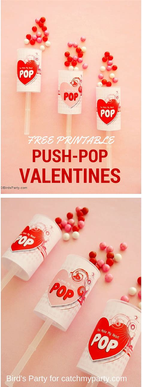 valentines day blogs free s day push pop printables catch my