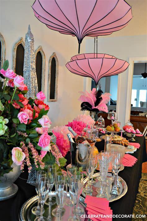 ooh la la   paris party celebrate decorate