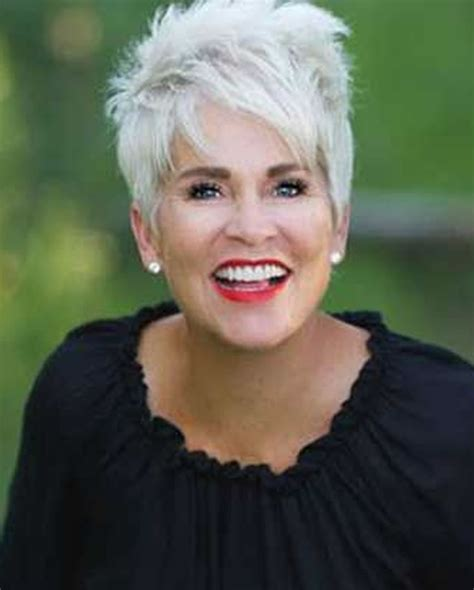 hair styels for gray hair senior short gray hairstyles for older women over 50 gray hair