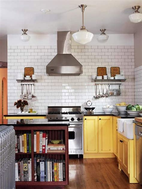 Yellow Kitchen House Decorating With Yellow Centsational