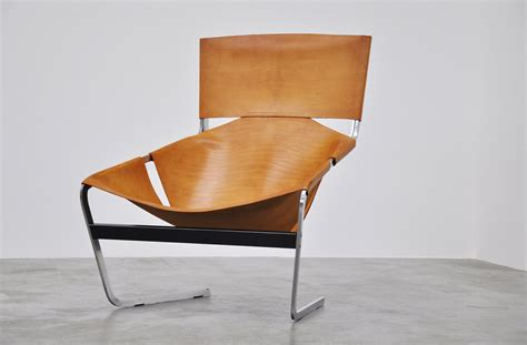 Paulin Chair by Paulin F444 Artifort Chair In Leather 1963