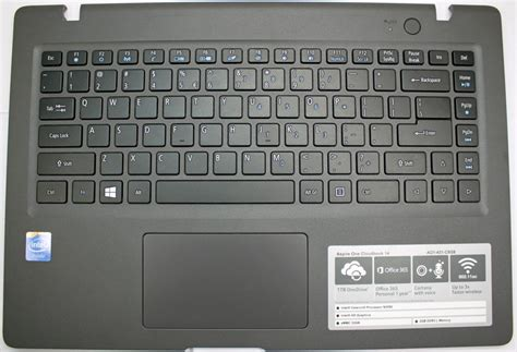 Keyboard Laptop Acer One 14 acer aspire one cloudbook 14 ao1 431 laptop keyboard