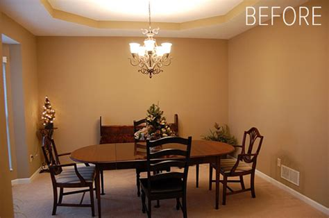 Transforming A Dining Room Into A Bedroom Before After Dining Room Turned Library Design Sponge