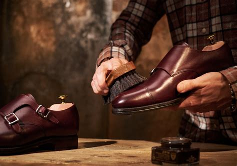 Shoo Care the gentleman s guide to shoe care