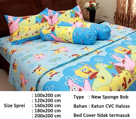 Sprei Katun Jepang Uk 180x200 Cm 9 sprei aneka motif kid edition deals for only rp65 000