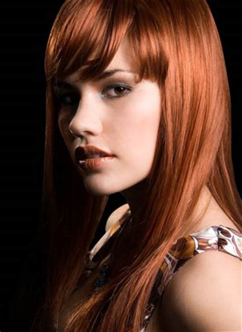 cute hair color ideas for redheads light copper red hair colors ideas