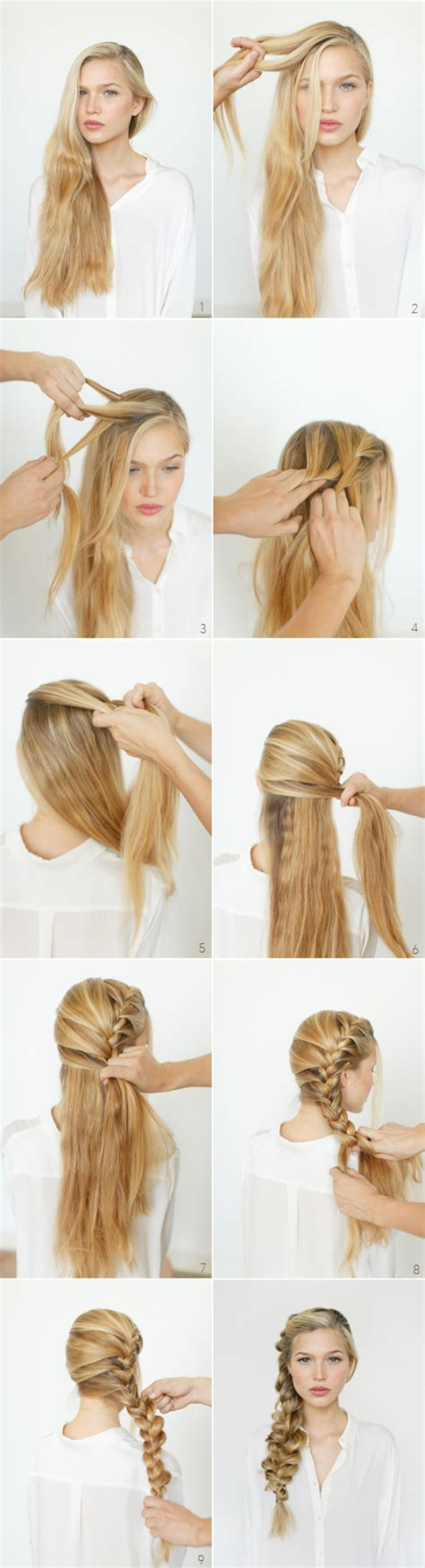 easy step by step hairstyles do by own at any time 18 easy step by step tutorials for perfect hairstyles