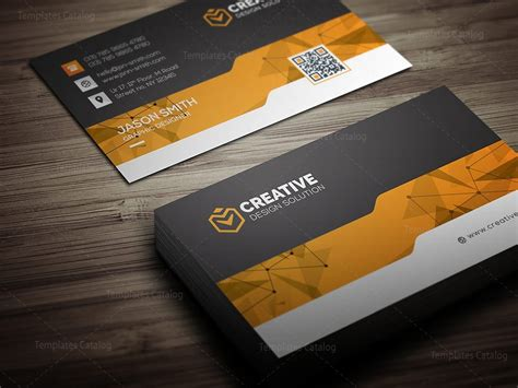 Creative Business Cards Design Templates by Creative Business Card Design Template 000462 Template