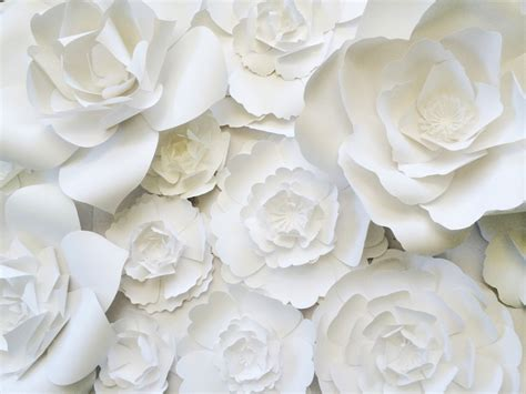 Large Paper Flowers - paper flower wall decor large paper flower wall backdrop