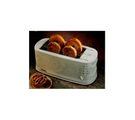 Bengals Toaster Rival Select Long Slot Electronic Toaster 4slice Qvc Com