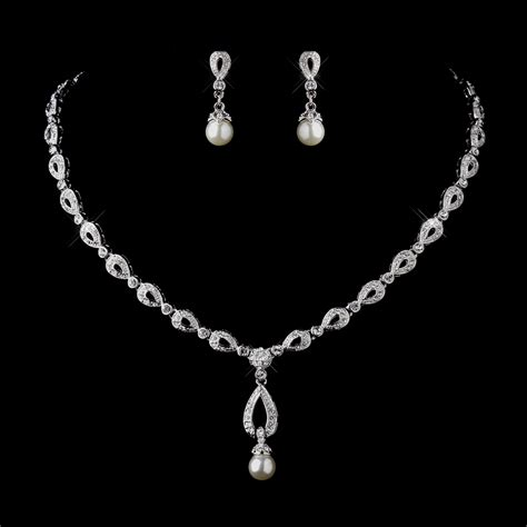 Wedding Jewelry Sets by Pearl Wedding Jewelry Sets Www Imgkid The Image