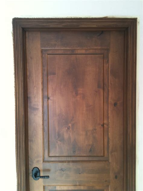 interior staining alder wood method drcustompainting