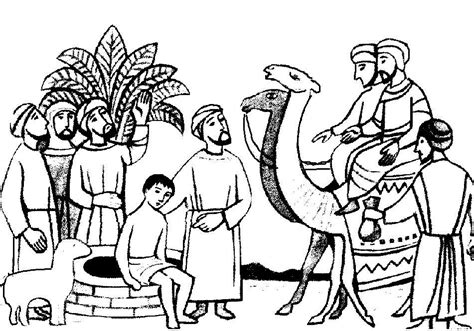 joseph sold slavery coloring pages az coloring pages