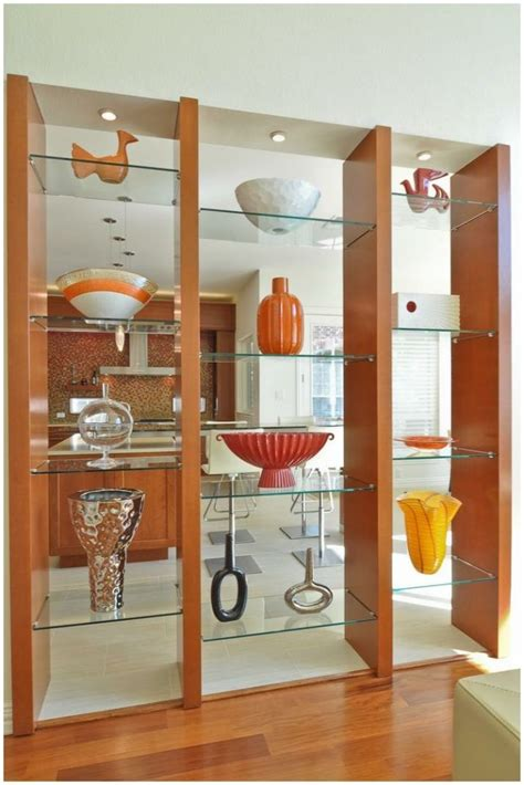 Glass Shelf Dividers by Dazzling Room Dividers Shelf Design Ideas Modern Shelf