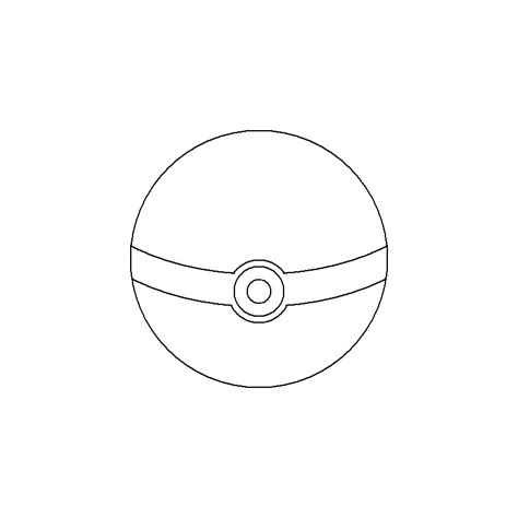 pokeball template pokeball base by ultimatetraveler on deviantart