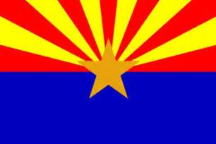 az color state of arizona flag and map coloring pages