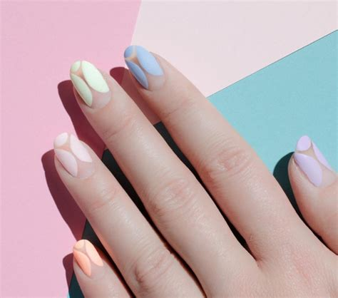 Matte Nail by Chrome Tips To Matte Pastels 9 Cool Nail Designs Chic