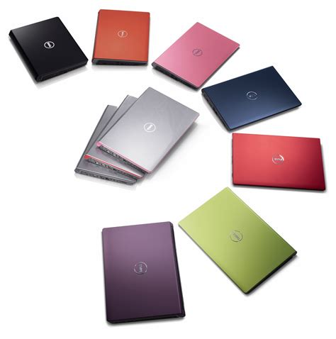 color laptop dell s new studio brand designed for the creative spark