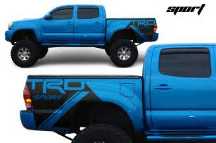 Toyota Tacoma Decals Toyota Tacoma Trd Fender Graphics Vinyl Decal Matte