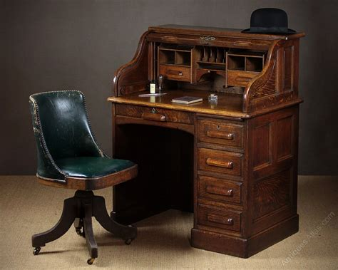 Small Early 20th C Oak Roll Top Desk C 1920 Antiques Atlas Small Roll Top Desk Oak