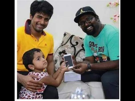 sivakarthikeyan daughter photo actor sivakarthikeyan s daughter gifted apple iphone to