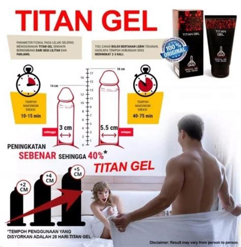 Titan Gel Original 100 Rusia original russia titan gel 50ml with end 10 22 2018 5 15 pm