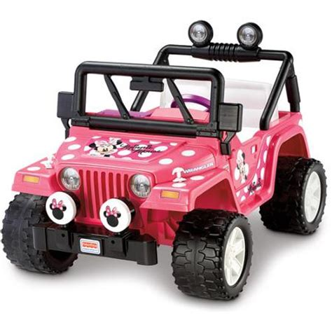 Power Wheels Jeep Battery Fisher Price Power Wheels Disney Minnie Mouse Jeep 12 Volt