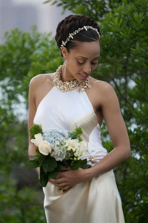 black bride wedding hairstyles glamorous wedding hairstyles for black women