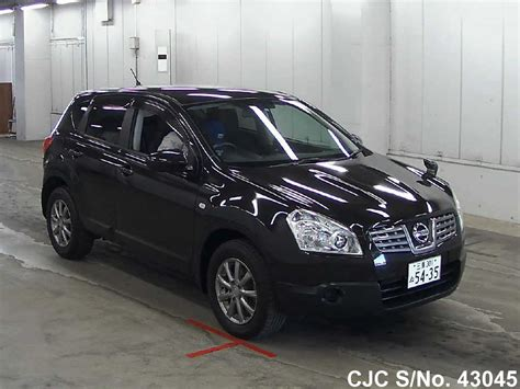 nissan dualis black 2007 nissan dualis black for sale stock no 43045