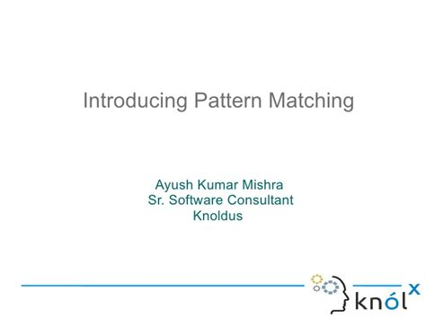 pattern matching in scala introducing pattern matching in scala