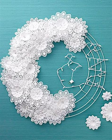 What To Make With Paper Doilies - 25 beautiful diy fabric and paper doily crafts 2017